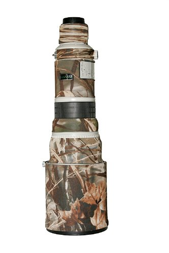 LensCoat  Canon 500 Lens Cover (Realtree Max4 HD) camouflage neoprene camera lens protection sleeve  LC500M4 by LensCoat