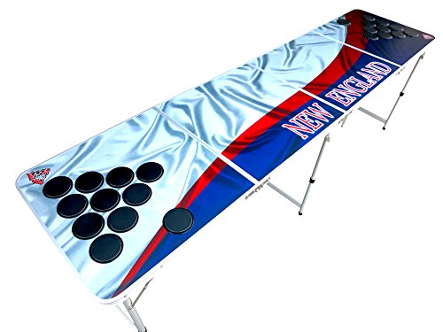 New England Beer Pong Table with Predrilled Cup Holes