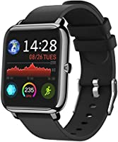"""IDEALROYAL Smart Watch, P22 Fitness Activity Tracker Heart Rate Monitor with 1.4"""" Touch Screen Waterproof, Sleep Monitor..."""