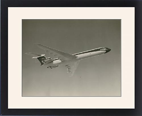Framed Print of Vickers Super VC10 G-ASGO in BOAC markings from Prints Prints Prints