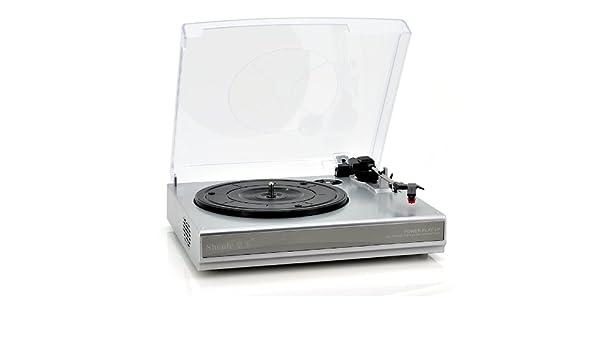 Giradiscos de vinilo Disco a mp3 Tocadiscos Converter: Amazon.es ...