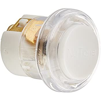 Round Chime Push Button THOMAS /& BETTS DH1201L Lighted White