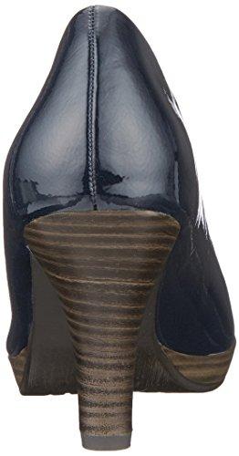 Marco Tozzi Escarpins 22409 Bleu Patent femme Navy vvqHrx6aw