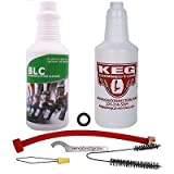 Kegconnection - Beer Line Cleaning Kit and Liquid Line Keg Beer Cleaner, 32 oz