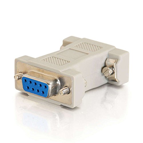 (C2G 02457 MultiSync VGA (HD15) Male to DB9 Female Serial RS232 Adapter, Beige)