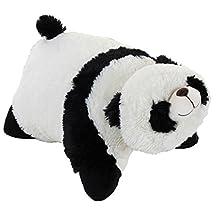 "Classic Comfy Panda Pillow Pet - 16"" Stuffed Animal Plush Toy"