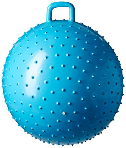 36″ Knobby Bouncy Ball with Handle (Colors may vary)