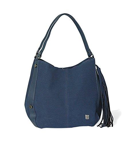 Navy marrone borsa shopper Mambo donna tracolla Borse Blu grande spalla o hobo a 7RqUIaw