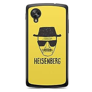 Nexus 5 Transparent Edge Case Breaking Bad Heisenberg