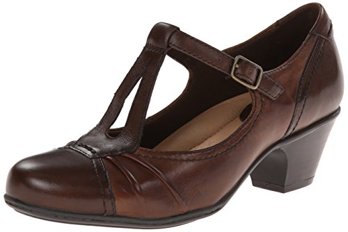 Earth Women's Wanderlust Dress Pump,Bark Calf Leather,8.5 M (Bark Leather Footwear)