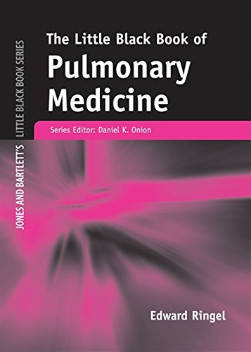 Little Black Book of Pulmonary Medicine (Jones and Bartlett