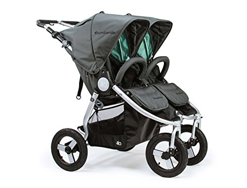 2018 Bumbleride Indie Twin Double Stroller – Dawn Grey Mint