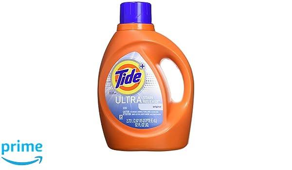 Amazon.com: Tide Plus Ultra Stain Release Original Scent ...