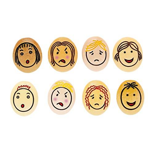 Yellow Door YUS1071 Jumbo Emotion Stone (Pack of 8) ()
