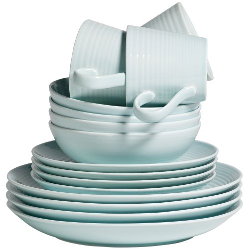 Gordon Ramsay Maze by Royal Doulton 16-pc. Dinnerware Set Blue