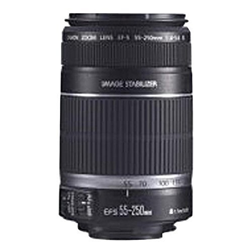 Price comparison product image Canon 2044B002 Ef-S 55Mm - 250Mm F/4 - 5.6 Is Telephoto Zoom Lens 6.75In. X 4.50In. X 4.25In.
