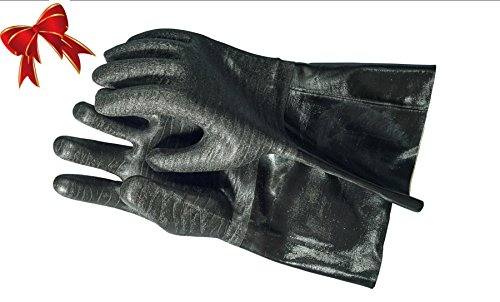 rubber bbq gloves - 2