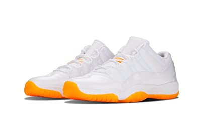 AIR JORDAN 11 RETRO LOW GG (GS) 'CITRUS' - 580521-139