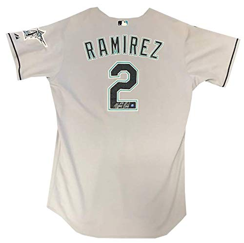 - Hanley Ramirez Autographed Game Used Florida Marlins Jersey (MLB)