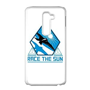 race the sun LG G2 Cell Phone Case White gift PJZ003-7549208