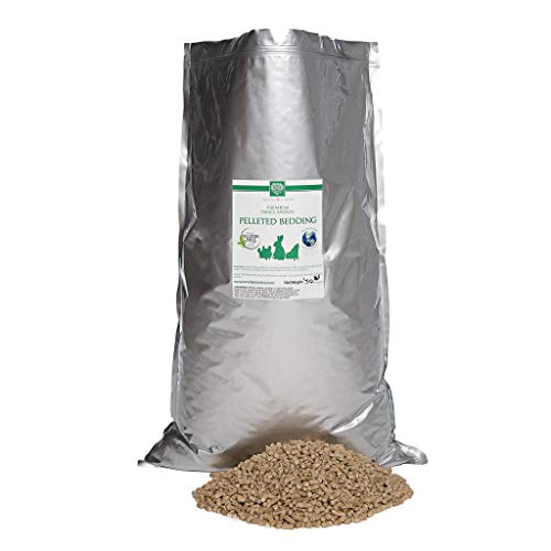 Small Pet Select All Natural Pellet Bedding, Brown, 40 Lb (Best Wood Pellet Stove)