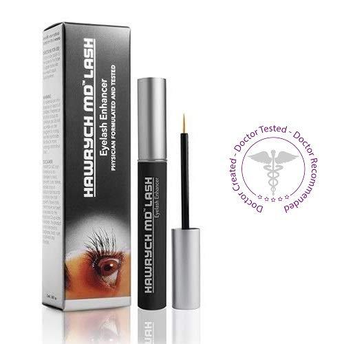 HAWRYCH MD Lash Boost Eyelash Enhancing Serum - Eyelash Enhancer for Longer Lashes Thicker Lashes and Fuller Lashes - Natural Lash Conditioner and Eyelash Booster - Eyelashes Beauty Product - 2 ML by HAWRYCH MD