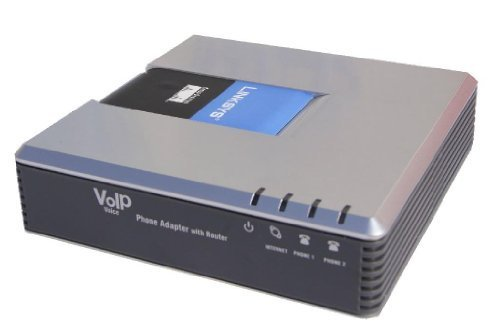 UNLOCKED LINKSYS PAP2T VOIP Phone Adapter by Linksys