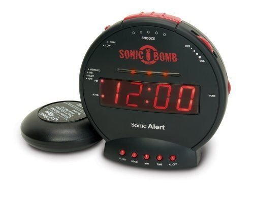 Price comparison product image Sonic Boom SBB500ss Sonic Bomb Loud Plus Vibrating Alarm Clock