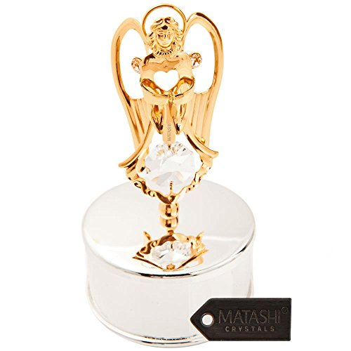Angel Gold Jewelry Box - 1
