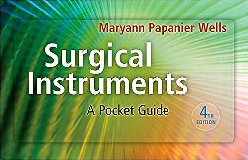 Surgical Instruments: A Pocket Guide: 9781437722499: Medicine