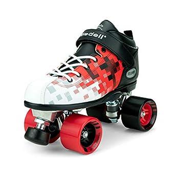 Image of Riedell Skates - Dart Pixel - Quad Roller Speed Skate Children's Roller Skates
