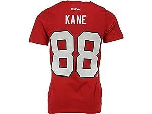 Reebok Chicago Blackhawks Patrick Kane Player Name & Number T-shirt