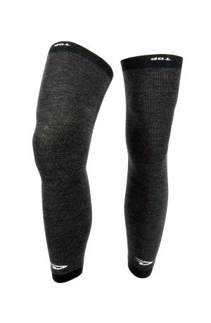 DEFEET KCWFL201 Kneeker Full Length Socks, Large/X-Large, Charcoal Wool