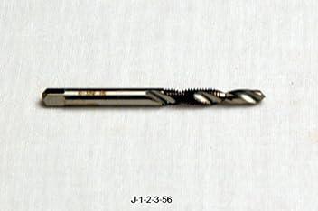 #10 X 32 NF 2FL UNIPASS DRILL /& TAP COMBO J-1-2-3-56