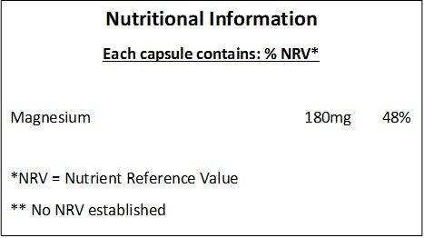 Óxido de Magnesio 300mg - 180 Cápsulas - Reducción del cansancio y la fatiga: Amazon.es: Salud y cuidado personal