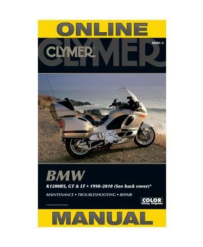 Clymer BMW K1200RS, K1200GT & K1200LT (1998-2010) (53200)