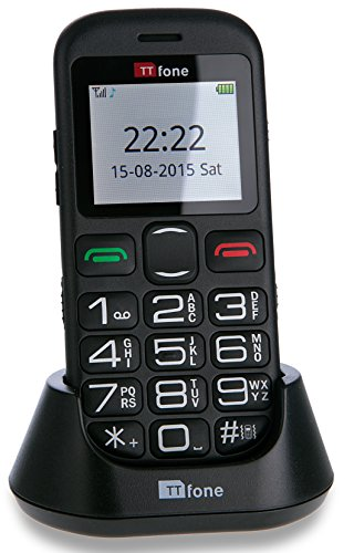 TTfone Jupiter 2 Big Button Pay As You Go Easy Simple Mobile Phone for the...