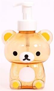 Envase champú dispensador jabón oso marrón Rilakkuma