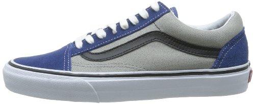 Vans Women's Old Skool Low-Top Trainers Blu (Bleu (Suede/Canvass)) 8HBBVp