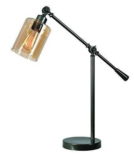 Kenroy Home Thornton Desk Lamp, Bronze, Warm Finish