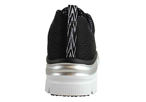 Skechers Statement Fashion Piece Moda Sneaker Fit Donna alla Grey Pink EZrRnPEqW