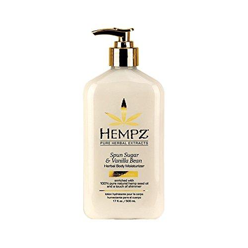 Hempz Spun Sugar & Vanilla Bean Herbal Body Moisturizer, 17o