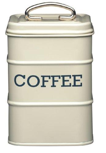 Kitchen Craft Living Nostalgia Coffee Storage Canister, 11 x 17 cm - Antique Cream