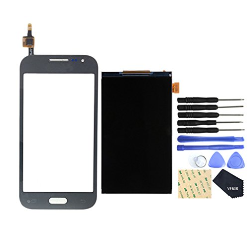 VEKIR LCD Display Screen + Touch Digitizer Replacement Set for Samsung Galaxy Core Prime VE LTE(black)