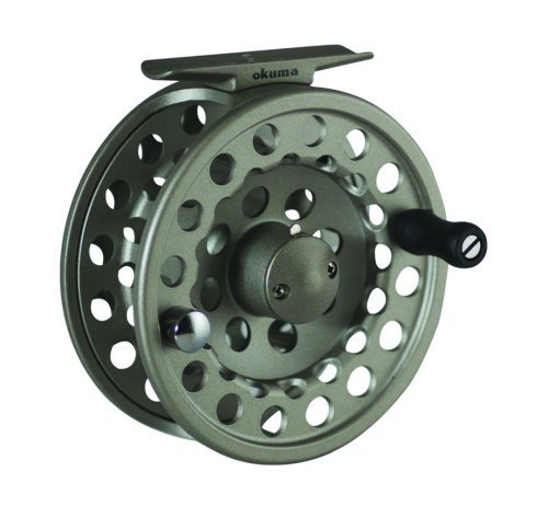 Okuma SLV- 7/8 Diecast Aluminum Fly Reel, Light ()