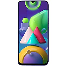 Samsung Galaxy M21 (Midnight Blue, 4GB RAM, 64GB Storage)