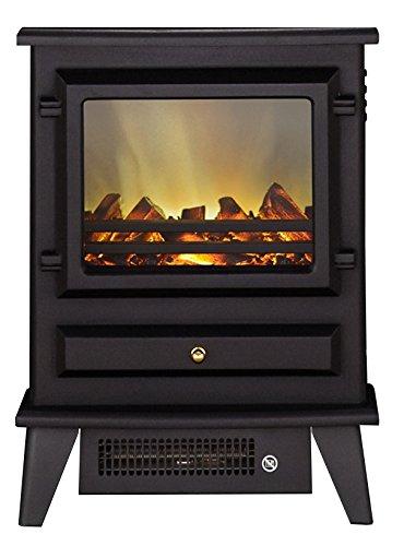Hudson Electric Stove Adam 3720-22 Black Flame