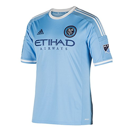 MLS New York City FC Frank Lampard #8 Men's Replica Short Sleeve Player Jersey, Blue, XX-Large