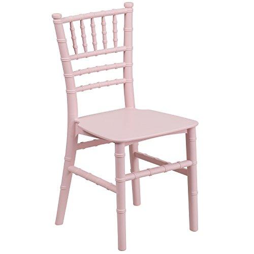 Pink Stackable - Flash Furniture Kids Pink Resin Chiavari Chair