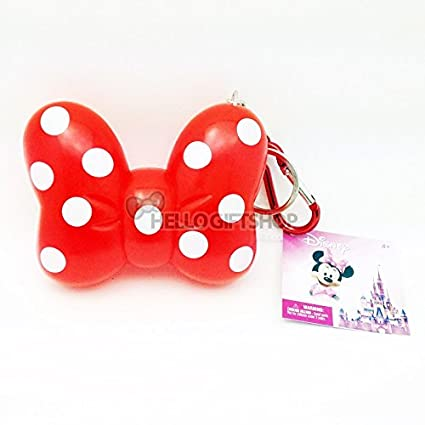 Image Unavailable. Image not available for. Color  Disney Minnie Mouse Big Bow  Keyring ... 5bbcf52bdd5f